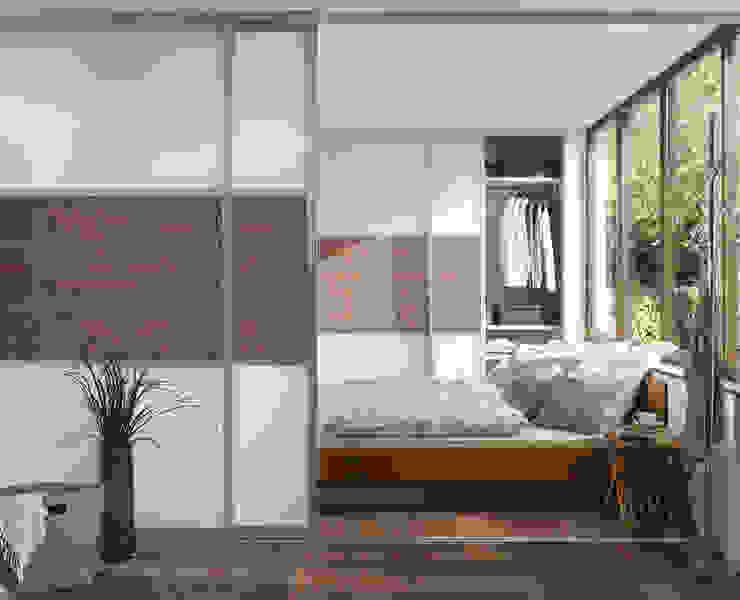 Elfa Deutschland GmbH モダンスタイルの寝室