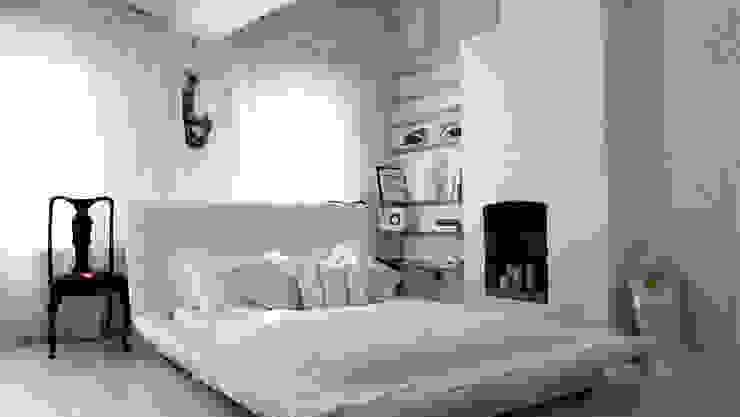 Projects - selection of images Klasyczna sypialnia od Michele Longoni Interiors Klasyczny