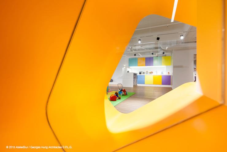 Babysteps Playgroup, HK Modern schools by atelier blur / georges hung architecte d.p.l.g. Modern