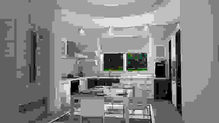 SAFİR KONAKLARI MUTFAK Modern Mutfak GÜNAY MİMARLIK Modern