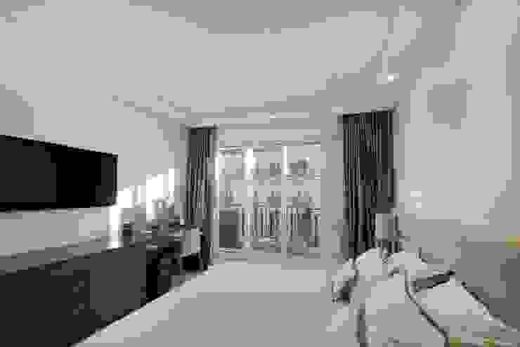 Appartement Paris XVI Chambre moderne par Atelier TO-AU Moderne