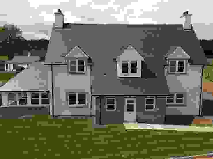 Ecclesgreig Gardens, St. Cyrus, Aberdeenshire Modern houses by Roundhouse Architecture Ltd Modern