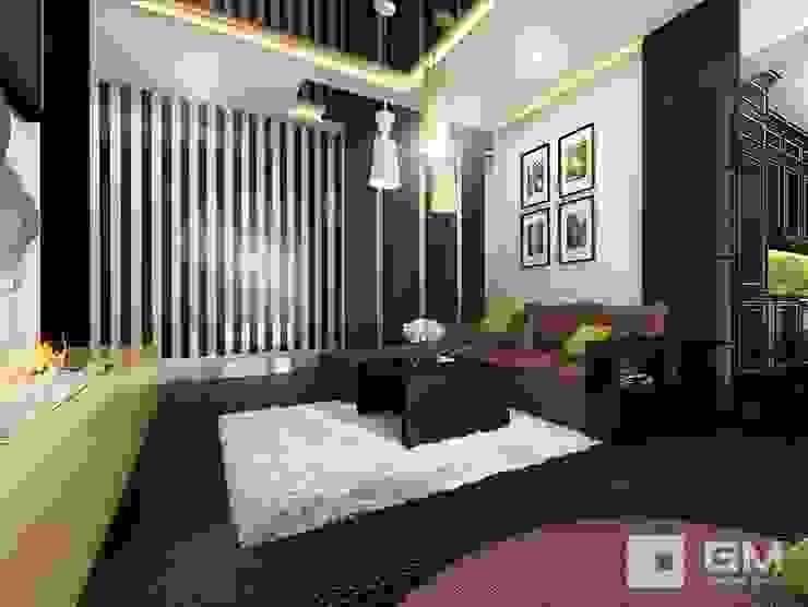 Дизайн интерьера 2-х комнатной квартиры на ул. Лобачевского Гостиная в классическом стиле от GM-interior Классический