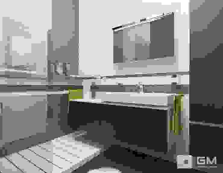 Дизайн интерьера 2-х комнатной квартиры на ул. Лобачевского Ванная в классическом стиле от GM-interior Классический