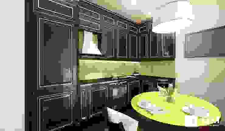 Дизайн интерьера 2-х комнатной квартиры на ул. Лобачевского Кухня в классическом стиле от GM-interior Классический