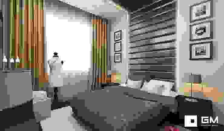 Дизайн интерьера 2-х комнатной квартиры на ул. Лобачевского Спальня в классическом стиле от GM-interior Классический