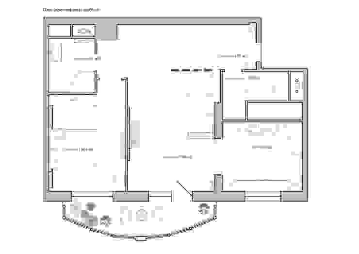Дизайн интерьера 2-х комнатной квартиры на ул. Лобачевского от GM-interior