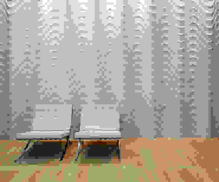 seta curve homify Pareti & PavimentiRivestimenti pareti & Pavimenti