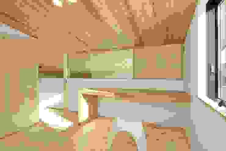 ห้องนอนเด็ก by 長谷川拓也建築デザイン