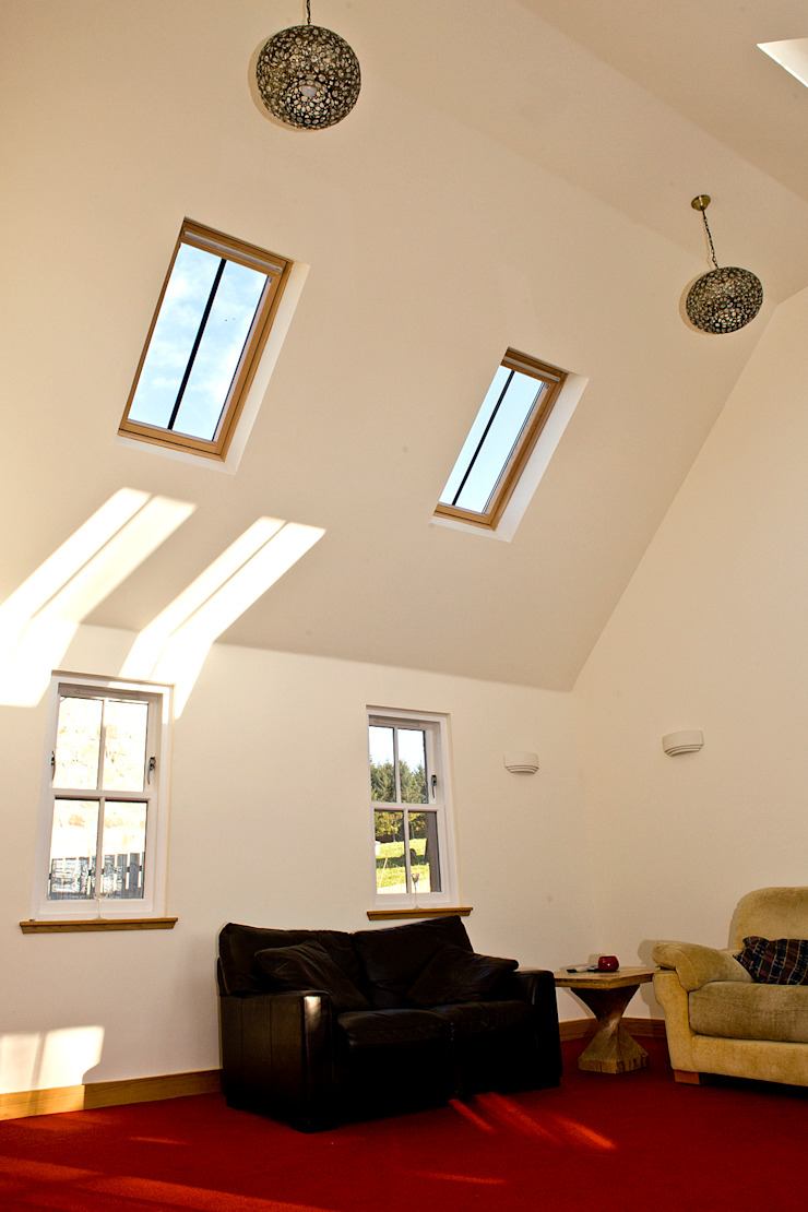 Craigentath, Blairs, Aberdeenshire Classic style windows & doors by Roundhouse Architecture Ltd Classic