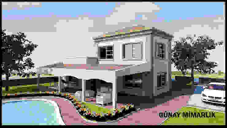 BAĞ EVİ Modern Balkon, Veranda & Teras GÜNAY MİMARLIK Modern