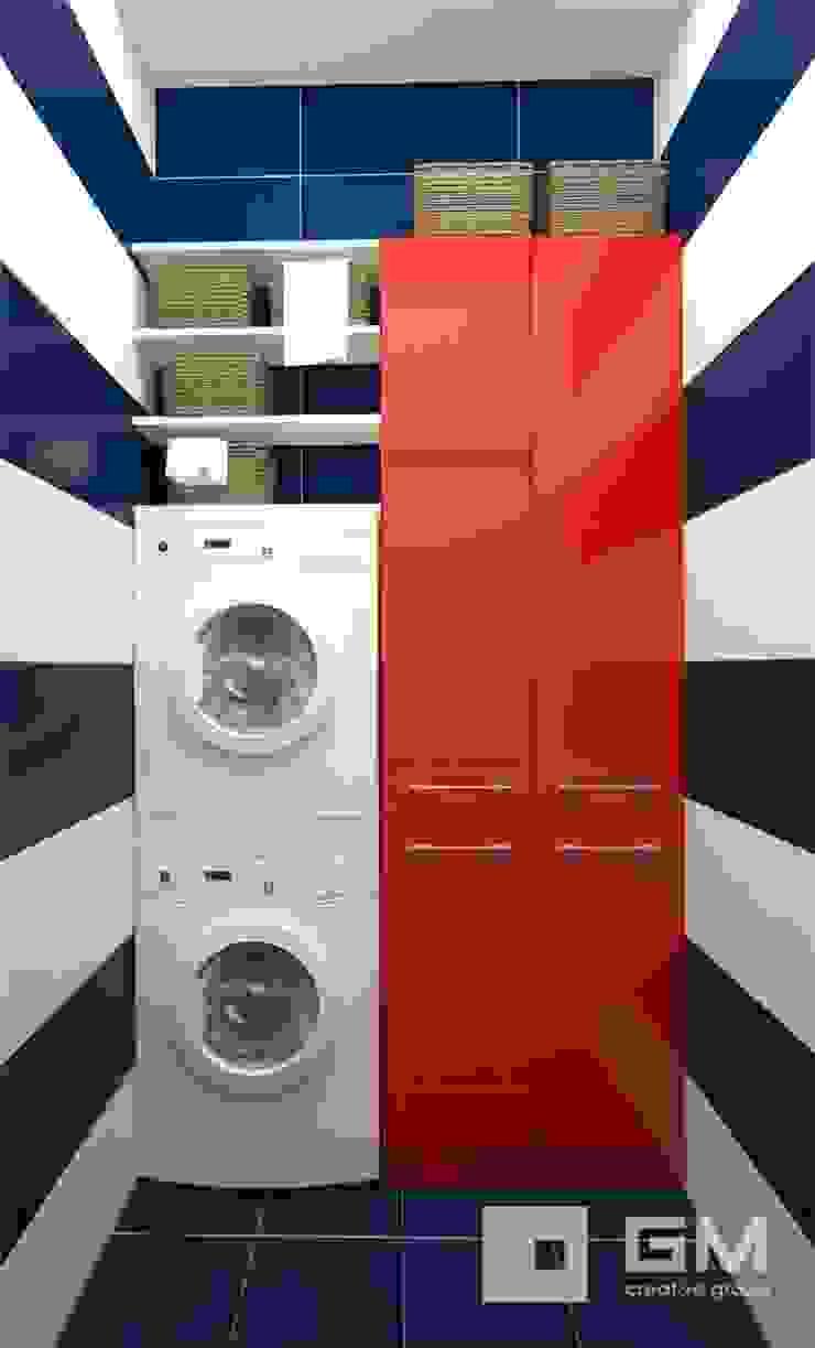 Дизайн интерьера таунхауса в пос. Бристоль 2 Ванная комната в эклектичном стиле от GM-interior Эклектичный