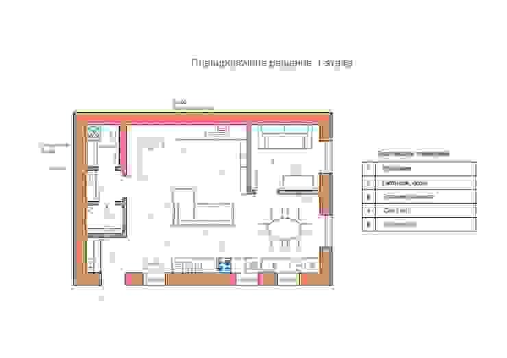 Дизайн интерьера таунхауса в пос. Бристоль 2 от GM-interior