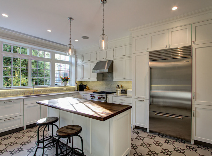 Brooklyn Townhouse Classic style kitchen by Ben Herzog Architect Classic