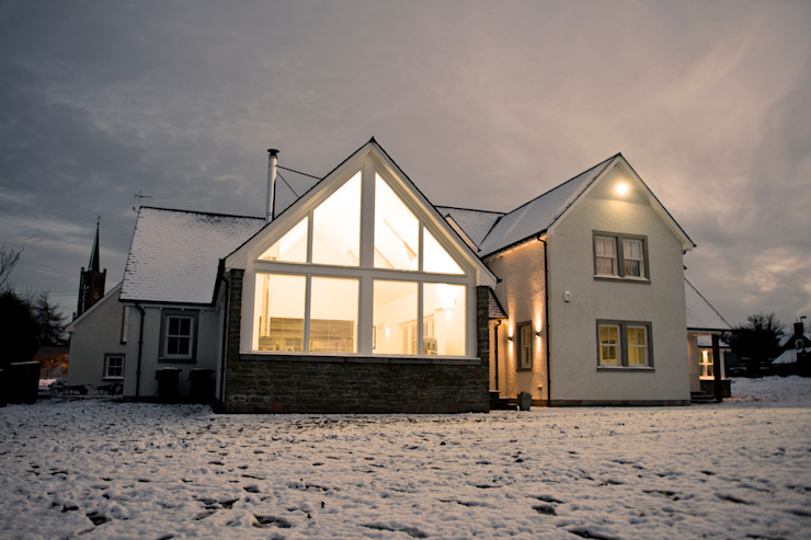 Snowdrop Lodge, Beach Road, St. Cyrus, Aberdeenshire Roundhouse Architecture Ltd Classic style houses
