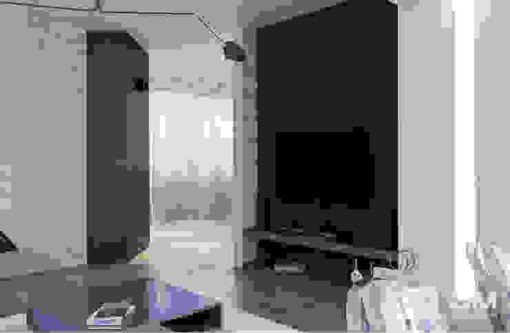 Дизайн интерьера дома по Дмитровскому шоссе, Горки Гостиная в стиле минимализм от GM-interior Минимализм