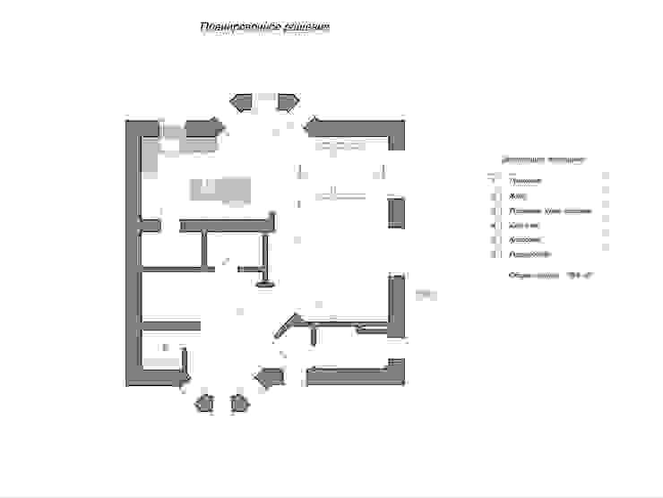 Дизайн интерьера дома по Дмитровскому шоссе, Горки от GM-interior