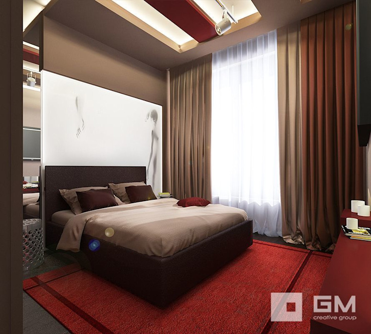 GM-interior Eclectic style bedroom