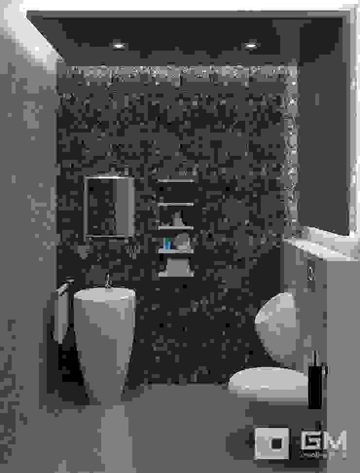 Дизайн интерьера дома по Дмитровскому шоссе, Горки Ванная комната в стиле минимализм от GM-interior Минимализм
