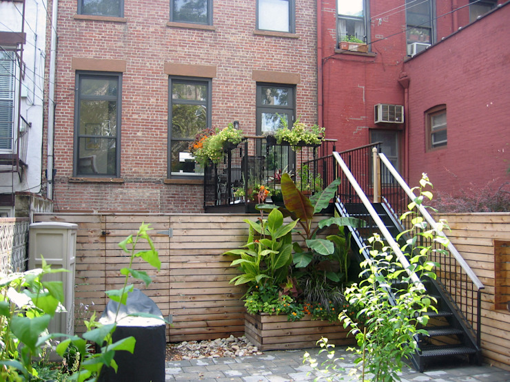 Greenwood Heights Townhouse Klasyczne domy od Ben Herzog Architect Klasyczny