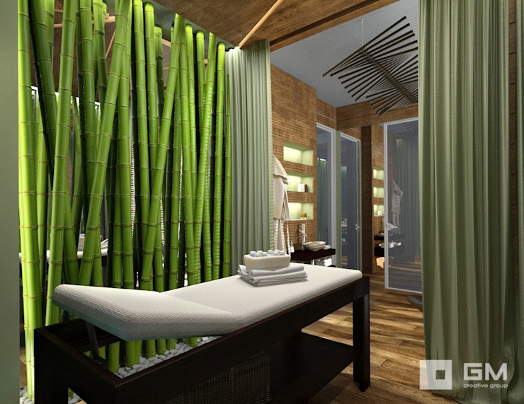 GM-interior Eclectic style spa