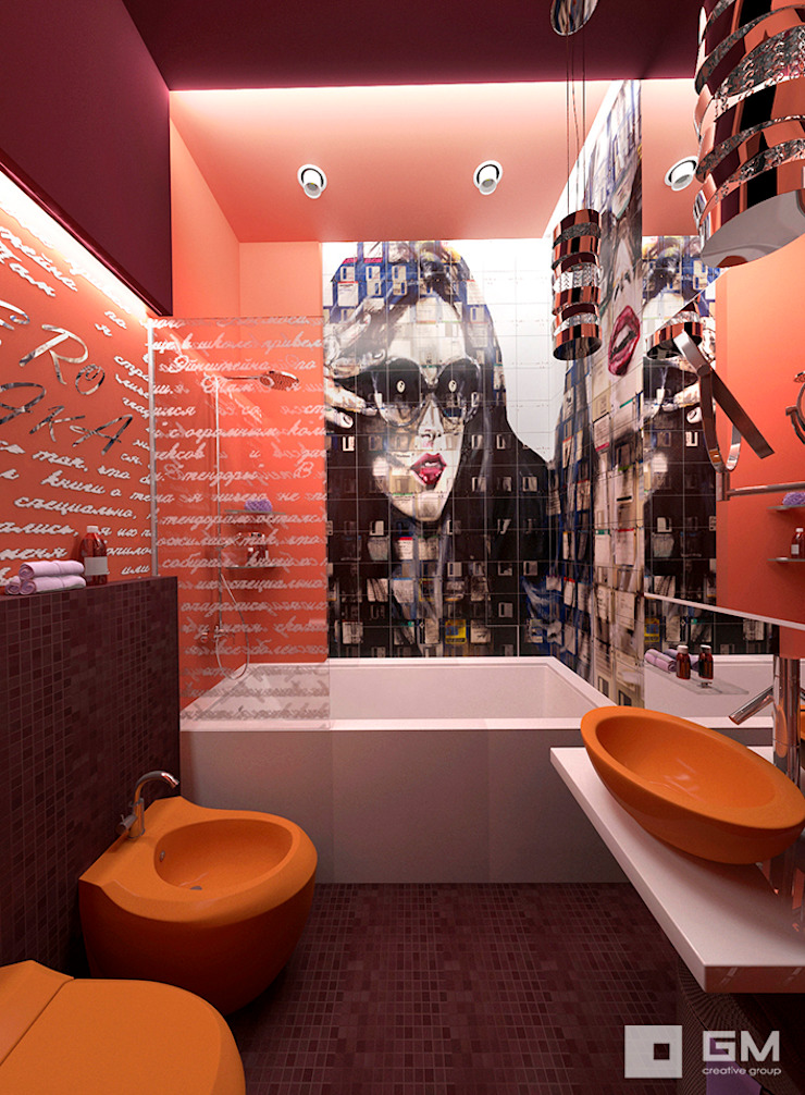 GM-interior Eclectic style bathroom