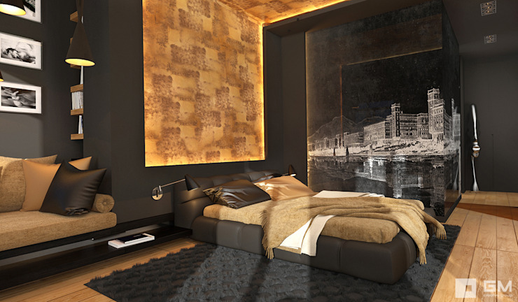 Bedroom by GM-interior, Eclectic