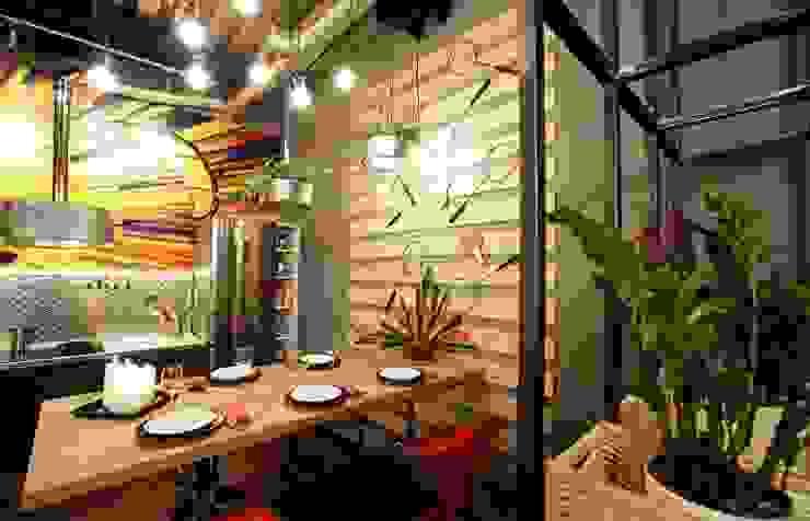Кухня в стиле «industrial»:  в современный. Автор – Сделано со вкусом на ТНТ, Модерн