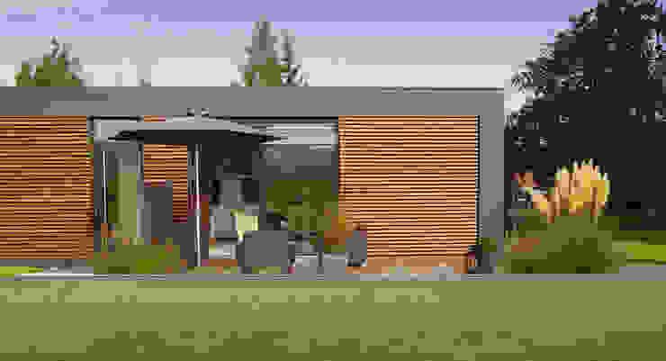 Musterhaus freelance Minimalistische Häuser von smartshack Minimalistisch