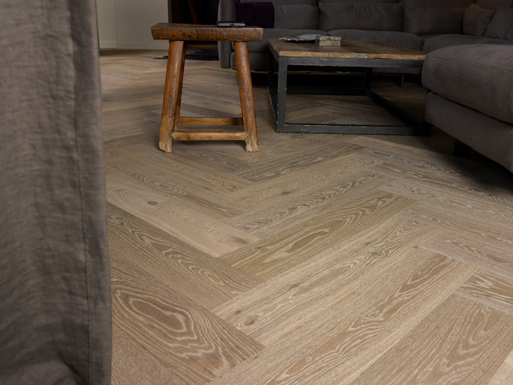 Living room by Nobel flooring, Country