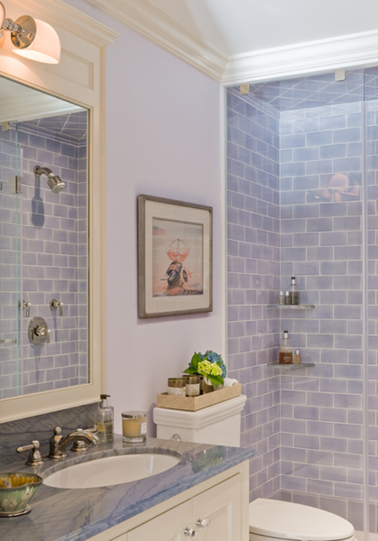 Brooklyn Heights Addition Colonial style bathroom by Ben Herzog Architect Colonial