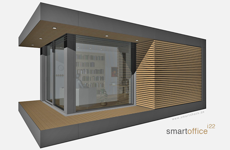 smartshack Edificios de oficinas