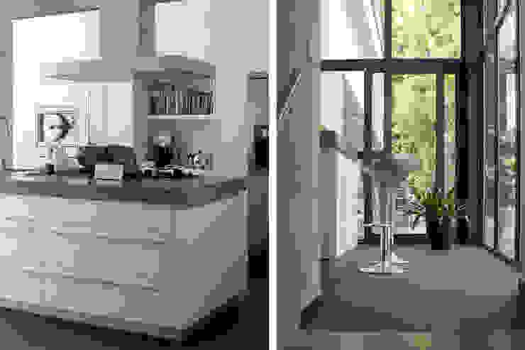 Villa Vught: modern  door Doreth Eijkens | Interieur Architectuur, Modern