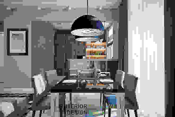 Столовая зона Столовая комната в стиле модерн от Студия архитектуры и дизайна Дарьи Ельниковой Модерн