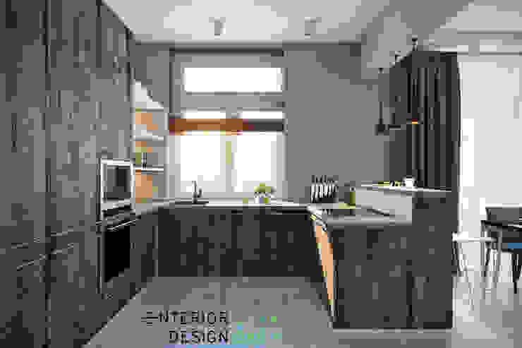 Кухня Кухни в эклектичном стиле от Студия архитектуры и дизайна Дарьи Ельниковой Эклектичный