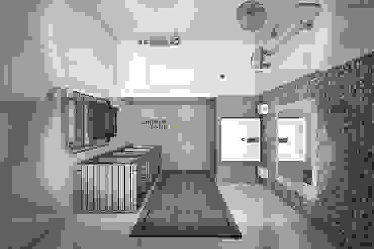 โดย Студия архитектуры и дизайна Дарьи Ельниковой โมเดิร์น