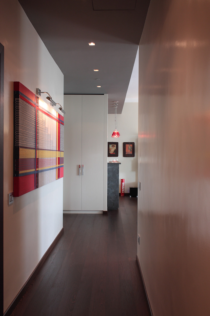 Modern Koridor, Hol & Merdivenler Francesca Bonorandi Modern
