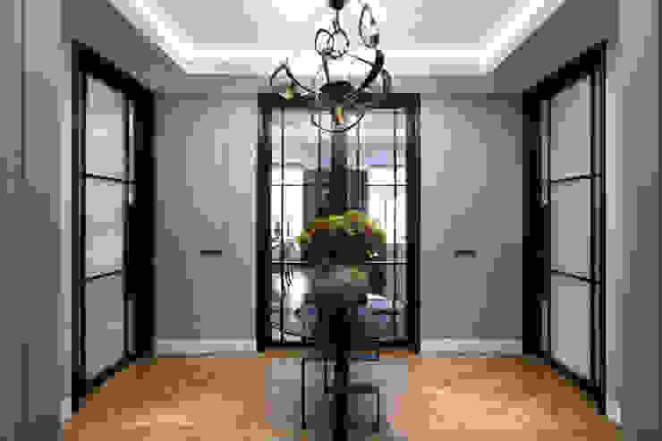 Lateral Apartment, Regents Park Modern corridor, hallway & stairs by Helen Green Design Modern