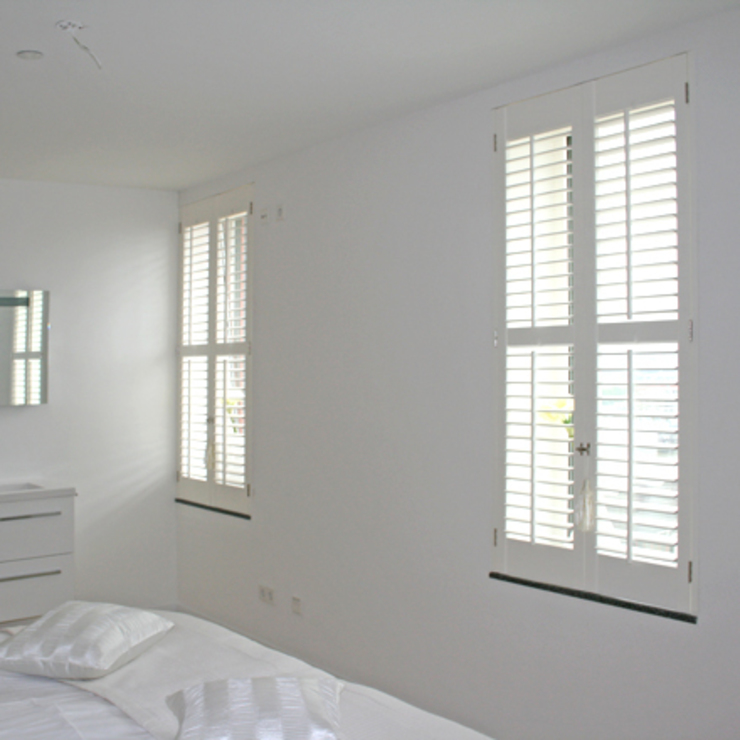 Klassieke Villa, Tilburg Koloniale slaapkamers van Doreth Eijkens | Interieur Architectuur Koloniaal