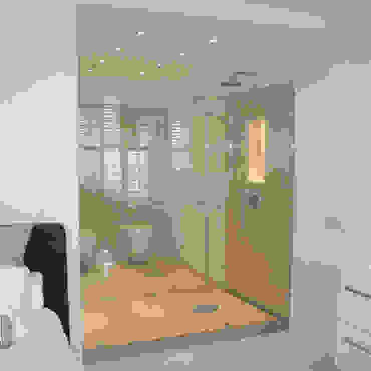 Klassieke Villa, Tilburg Moderne badkamers van Doreth Eijkens | Interieur Architectuur Modern
