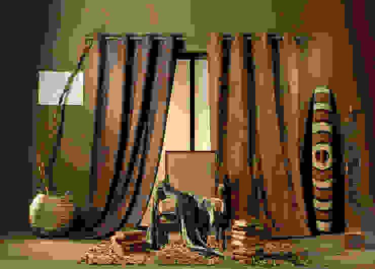 Rideaux prêts à poser>Vintage>Unis>COBRA par So Textil Éclectique