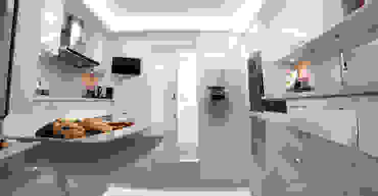 C.A.ŞEKERCİ ALSANCAK EVİ Modern Mutfak As Tasarım - Mimarlık Modern
