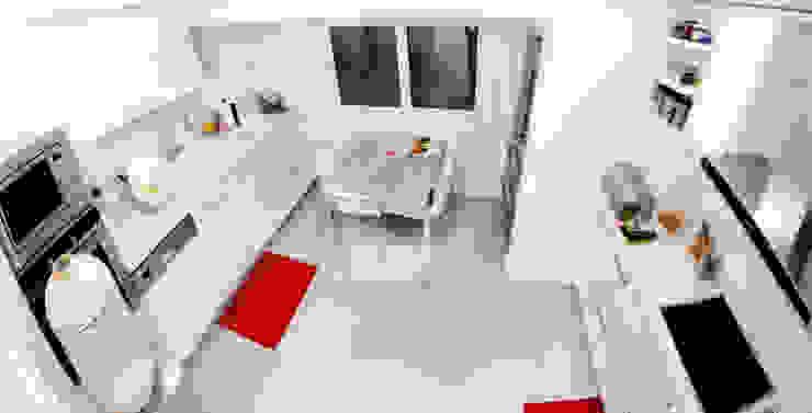 As Tasarım - Mimarlık – C.A.ŞEKERCİ ALSANCAK EVİ:  tarz Mutfak