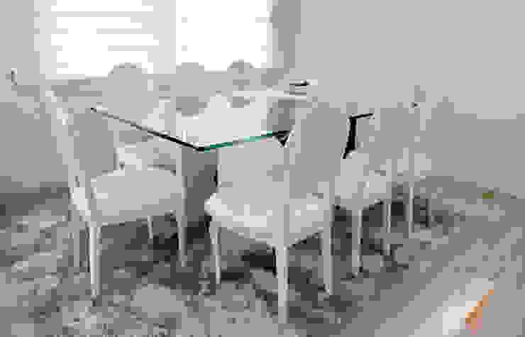 As Tasarım - Mimarlık – C.A.ŞEKERCİ ALSANCAK EVİ:  tarz Yemek Odası