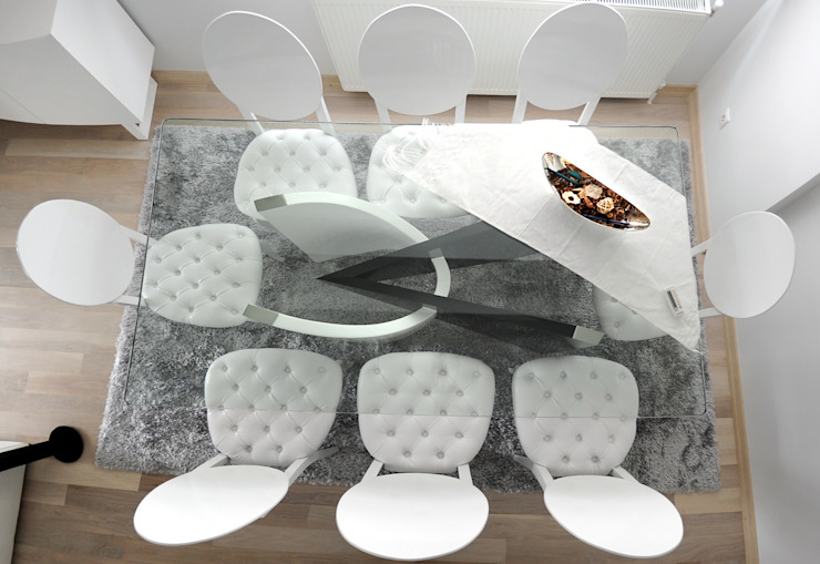 As Tasarım - Mimarlık – C.A.ŞEKERCİ ALSANCAK EVİ:  tarz Yemek Odası,