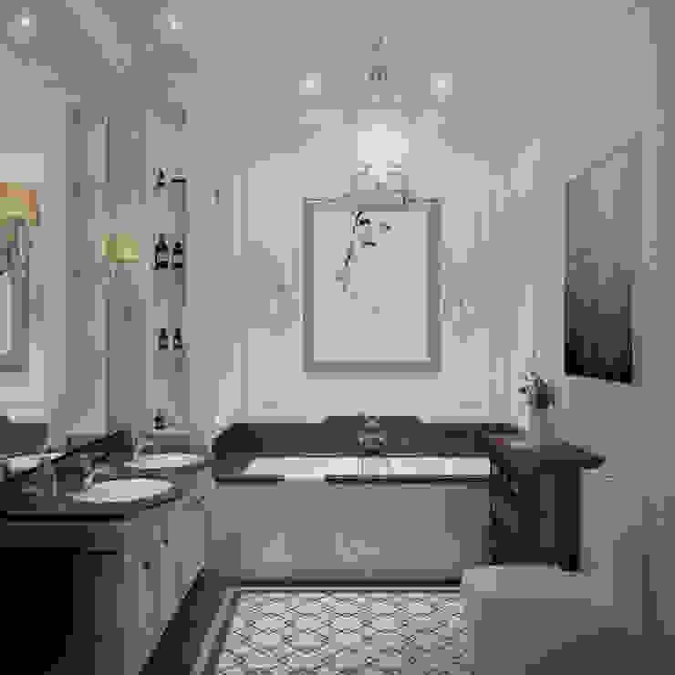 Квартира в классическом стиле Ванная в классическом стиле от COUTURE INTERIORS Классический