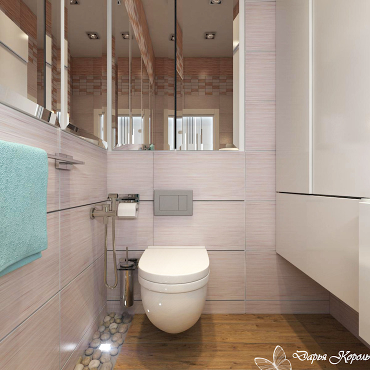 Guest WC Ванная комната в стиле минимализм от Your royal design Минимализм