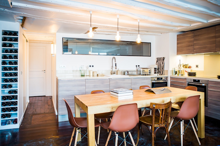 Appartement Montorgueil Paris Hélène de Tassigny Cuisine moderne