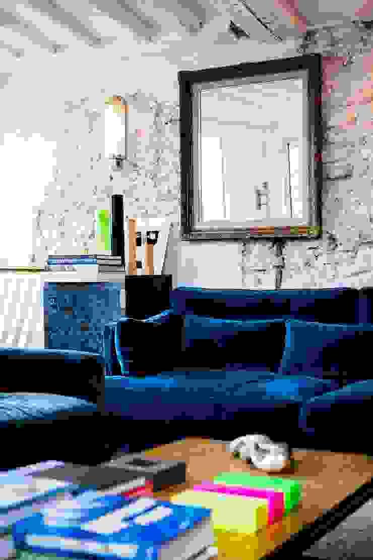 Appartement Montorgueil Paris Hélène de Tassigny Salon moderne