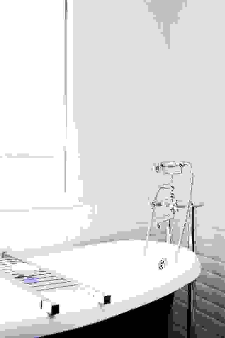 Appartement Montorgueil Paris Hélène de Tassigny Salle de bain moderne